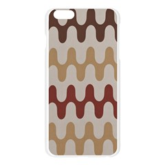 Bullard Line Fabric Chevron Wave Apple Seamless iPhone 6 Plus/6S Plus Case (Transparent)