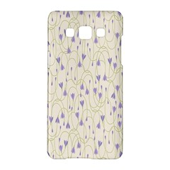 Flower Purple Samsung Galaxy A5 Hardshell Case