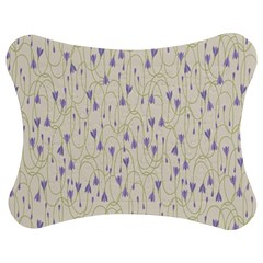 Flower Purple Jigsaw Puzzle Photo Stand (Bow)