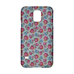 Fruit Flower Red Samsung Galaxy S5 Hardshell Case