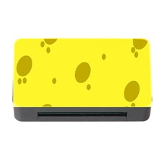 Hole Cheese Yellow Memory Card Reader With Cf