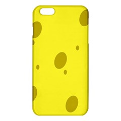 Hole Cheese Yellow iPhone 6 Plus/6S Plus TPU Case