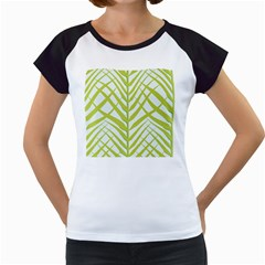 Leaf Coconut Women s Cap Sleeve T