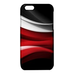 Lines Red iPhone 6/6S TPU Case
