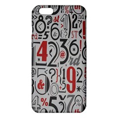 Number iPhone 6 Plus/6S Plus TPU Case