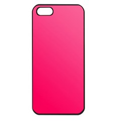 Pink Color Apple Iphone 5 Seamless Case (black)