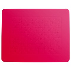Pink Color Jigsaw Puzzle Photo Stand (Rectangular)