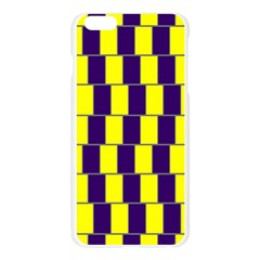Preview Wallpaper Optical Illusion Stripes Lines Rectangle Apple Seamless iPhone 6 Plus/6S Plus Case (Transparent)