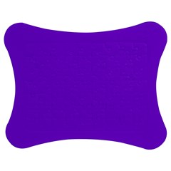 Purple Color Jigsaw Puzzle Photo Stand (Bow)