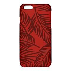 Red Palm iPhone 6/6S TPU Case