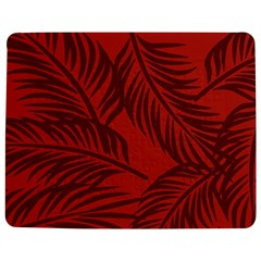 Red Palm Jigsaw Puzzle Photo Stand (Rectangular)