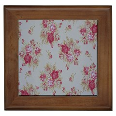Rose Framed Tiles