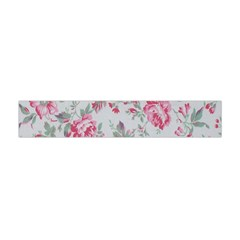 Rose Red Flower Flano Scarf (Mini)