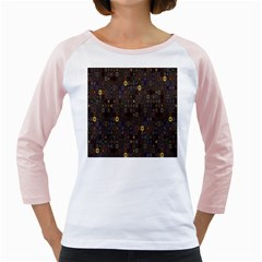 Preview Form Optical Illusion Rotation Girly Raglans