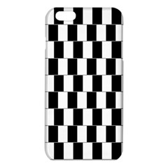 Wallpaper Line Black White Motion Optical Illusion iPhone 6 Plus/6S Plus TPU Case