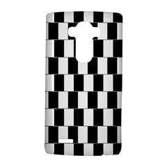 Wallpaper Line Black White Motion Optical Illusion LG G4 Hardshell Case