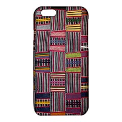 Strip Woven Cloth Color iPhone 6/6S TPU Case