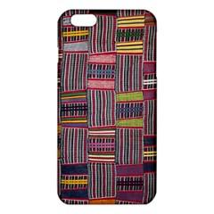 Strip Woven Cloth Color iPhone 6 Plus/6S Plus TPU Case