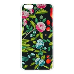Tropical And Tropical Leaves Bird Apple Seamless iPhone 6 Plus/6S Plus Case (Transparent)