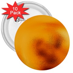 Blurred Glass Effect 3  Buttons (10 Pack)