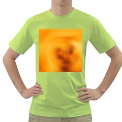 Blurred Glass Effect Green T Shirt