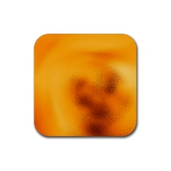Blurred Glass Effect Rubber Square Coaster (4 Pack)