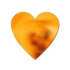 Blurred Glass Effect Heart Magnet