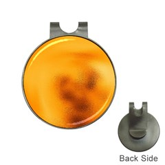 Blurred Glass Effect Hat Clips With Golf Markers