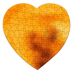 Blurred Glass Effect Jigsaw Puzzle (heart)