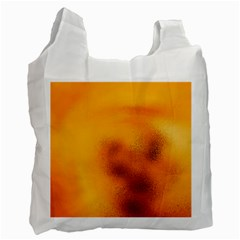Blurred Glass Effect Recycle Bag (one Side)