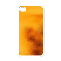 Blurred Glass Effect Apple Iphone 4 Case (white)