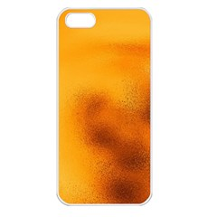 Blurred Glass Effect Apple Iphone 5 Seamless Case (white)