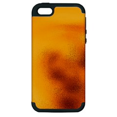 Blurred Glass Effect Apple Iphone 5 Hardshell Case (pc+silicone)
