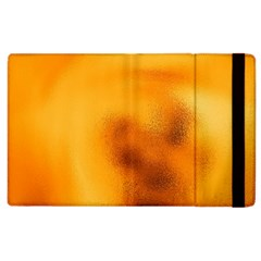Blurred Glass Effect Apple Ipad 2 Flip Case