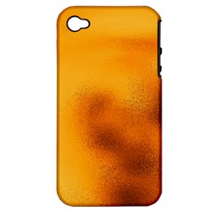 Blurred Glass Effect Apple Iphone 4/4s Hardshell Case (pc+silicone)