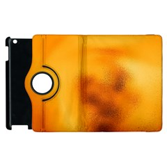 Blurred Glass Effect Apple Ipad 2 Flip 360 Case