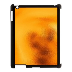 Blurred Glass Effect Apple Ipad 3/4 Case (black)