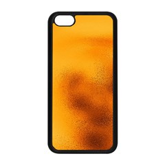 Blurred Glass Effect Apple Iphone 5c Seamless Case (black)