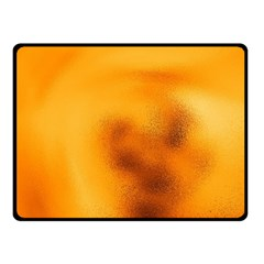 Blurred Glass Effect Double Sided Fleece Blanket (small)