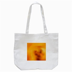 Blurred Glass Effect Tote Bag (white)