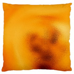 Blurred Glass Effect Large Flano Cushion Case (one Side)
