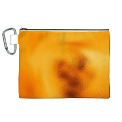 Blurred Glass Effect Canvas Cosmetic Bag (xl)