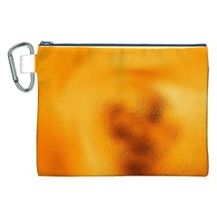 Blurred Glass Effect Canvas Cosmetic Bag (xxl)