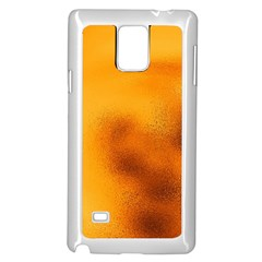 Blurred Glass Effect Samsung Galaxy Note 4 Case (white)