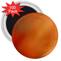 Bright Tech Background 3  Magnets (100 Pack)