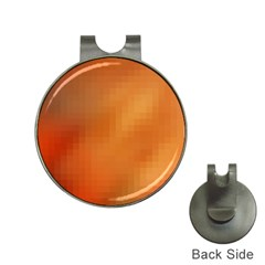 Bright Tech Background Hat Clips with Golf Markers