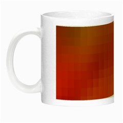 Bright Tech Background Night Luminous Mugs