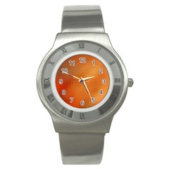 Bright Tech Background Stainless Steel Watch
