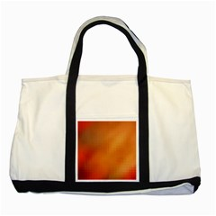 Bright Tech Background Two Tone Tote Bag