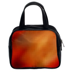 Bright Tech Background Classic Handbags (2 Sides)